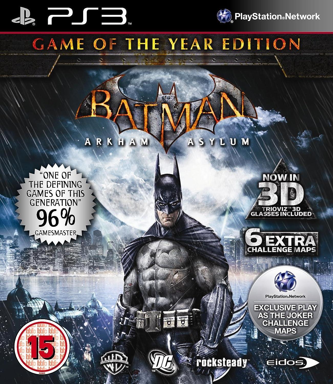 Batman : Arkham Asylum - Game of the Year (PS3) [PlayStation 3] [Importado de Reino Unido]: Amazon.es: Videojuegos