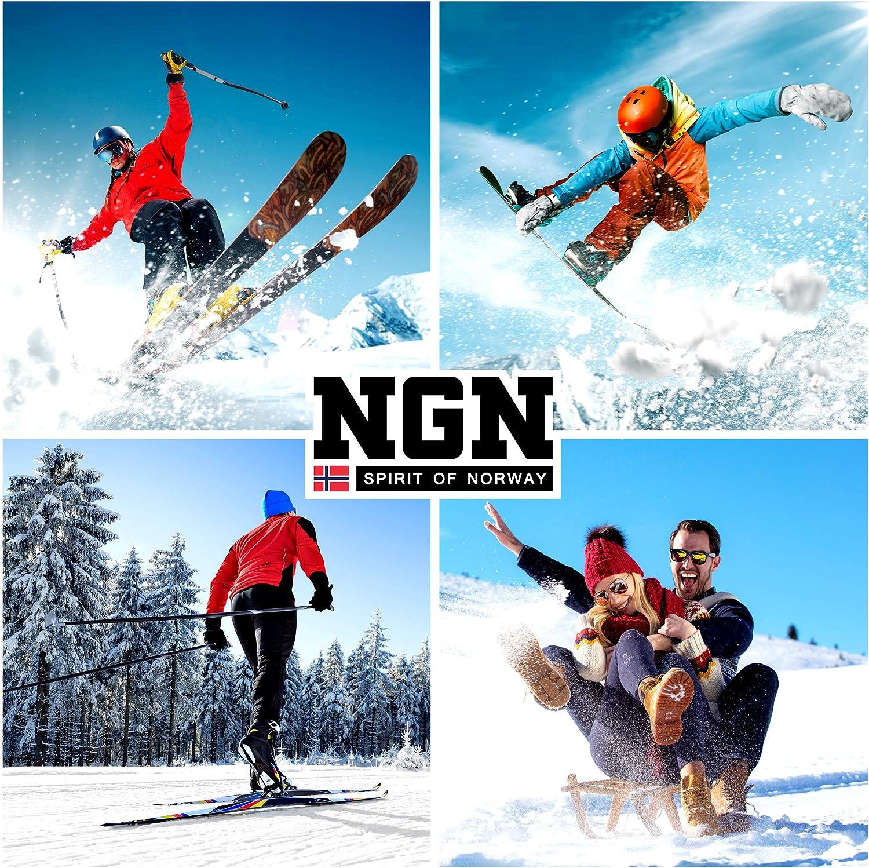 Outdoor Guanti da Sci da Uomo e da Donna Guanti da Donna NGN da Uomo Impermeabili Guanti Termici Neri Guanti Adatti per Snowboard