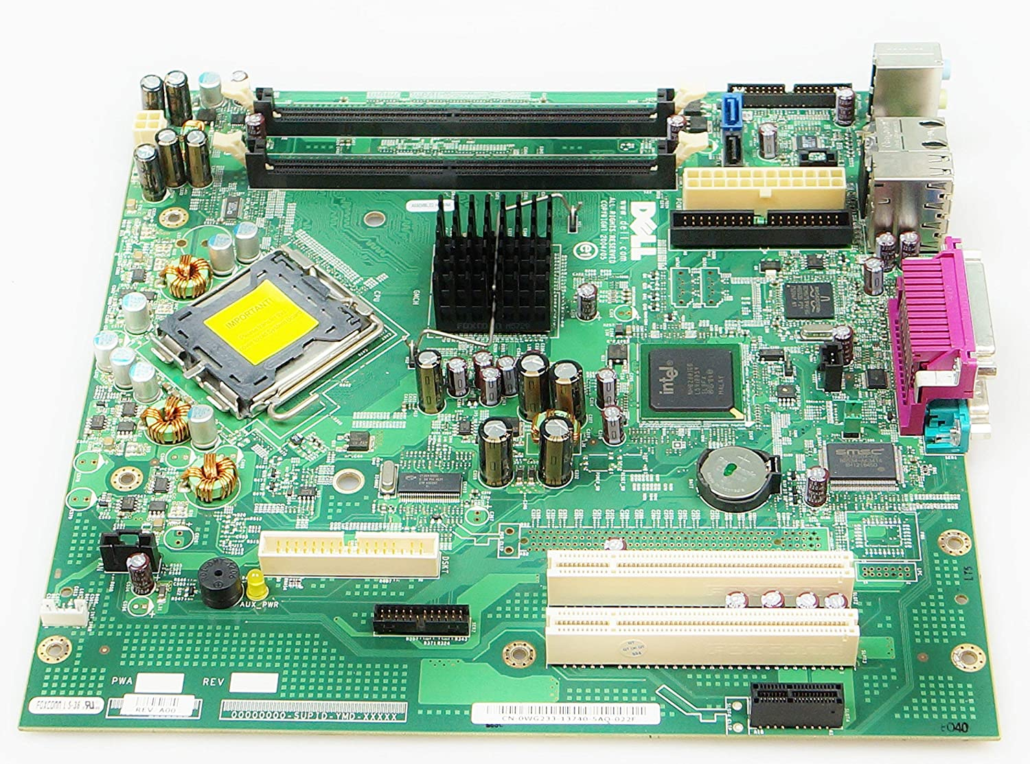 0Wg233 Dell Motherboard For Optiplex Gx520 (Certified Refurbished)