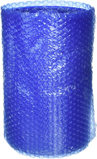 UBOXES Bubble Cushioning Wrap Small 3//16 Thick air Bubbles Easy Tears Every 12 96-8 Rolls