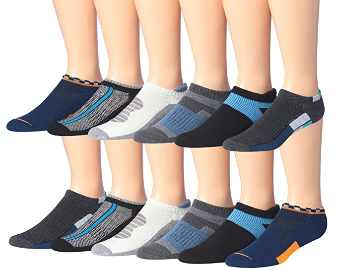 James fiallo Hombre 6-Pack peformance calcetines de corte bajo