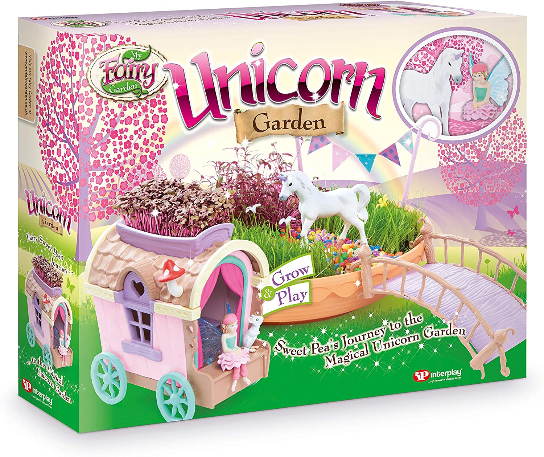 My Fairy Garden Unicorn Garden Children/'s Creative Play Set