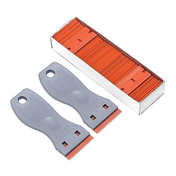 Gydandir 2 Kunststoff Razor Scraper Messer 100 Pcs 1151
