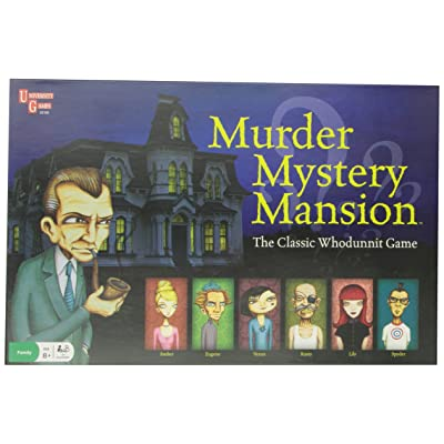 Murder Mystery Mansion Children's Game: Toys & Games