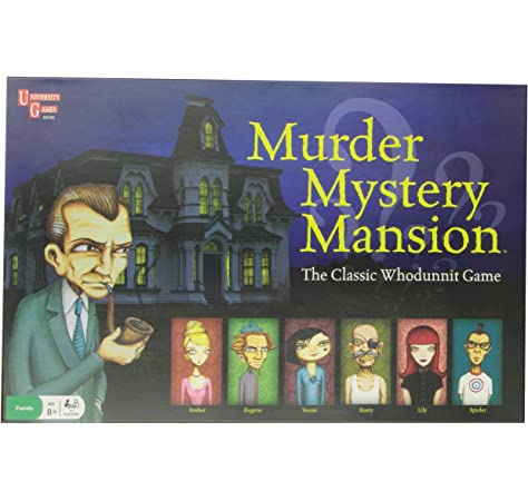 Amazon Com Murder Mystery Mansion Children S Game Toys Games