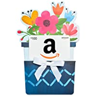 Amazon.ca Gift Card in a Flower Pot Reveal (Classic White Card Design)