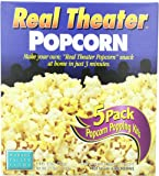 Wabash Valley Farms Real Theater All-Inclusive Popping Kits, 5-Count Kit (Pack of 3), Perfect for Family Movie Night