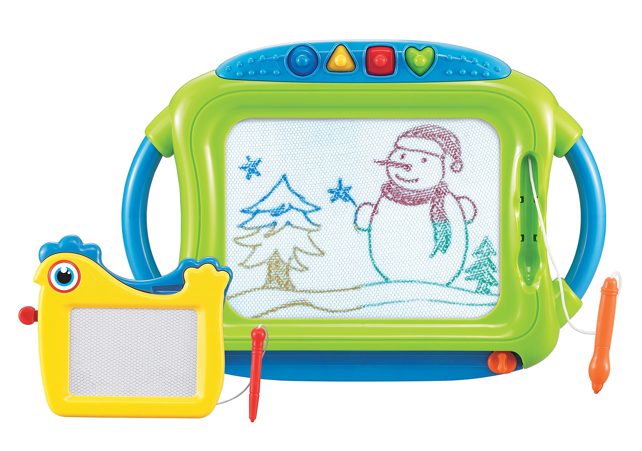 First Classroom Magnetic Color Doodle Fun Drawing Board with Mini Doodle