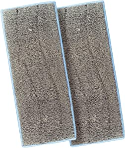 LICORNE 2 Pack Mop Heads Washable Wet Mopping Pads Compatible Braava Jet M Series, Wet Sweeping Reusable Replacement Pads for iRobot Braava Jet M6(6110) Robot Mop