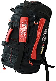 c9ead0991b95 Grip Power Pads PRO Sport Large Embroidered Best Gym Duffle Bag Wet Dry  Storage Cobra Grips