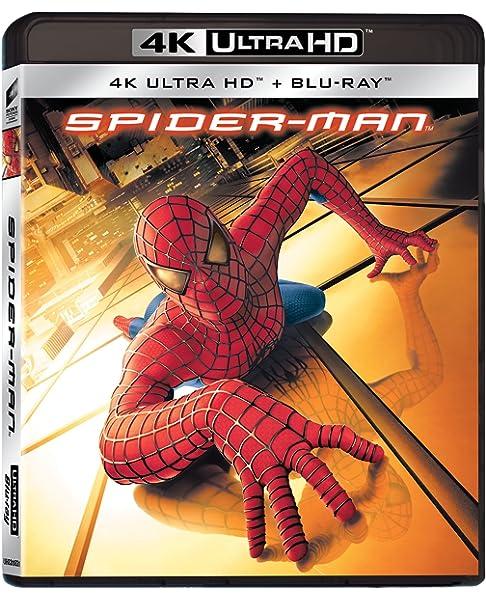 Spider-Man Blu-Ray 4K Ultra Hd+Blu-Ray Italia Blu-ray: Amazon.es: Bruce Campbell, Willem Dafoe, Kirsten Dunst, Danny Elfman, James Franco, Tobey Maguire, Cliff Robertson, Sam Raimi, Bruce Campbell, Willem Dafoe: Cine y Series TV