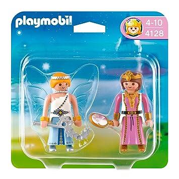 Playmobil - 4128 - Jeu de construction - Playmobil Duo Princesse et ...