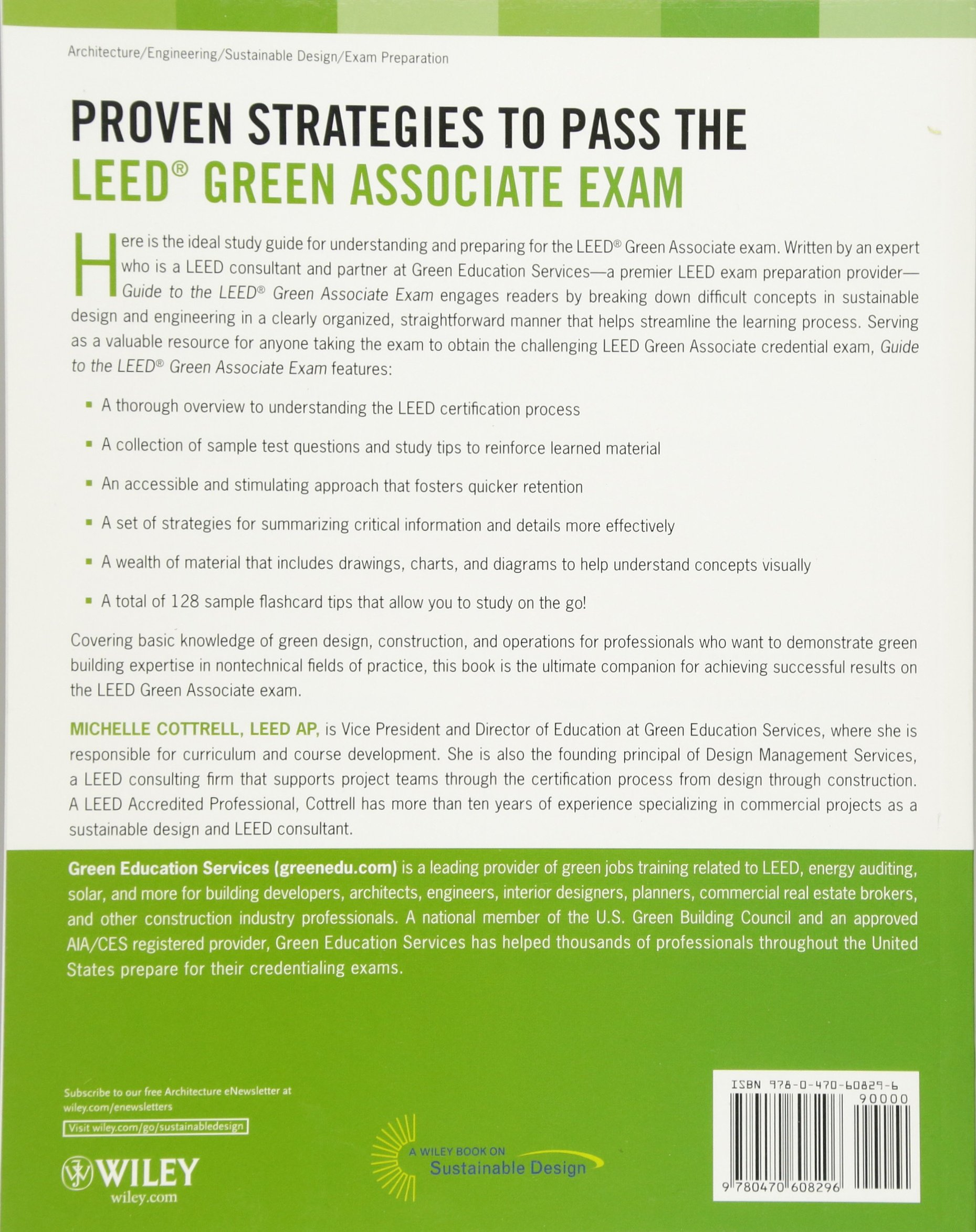 Guide to the leed green associate exam michelle cottrell guide to the leed green associate exam michelle cottrell 9780470608296 books amazon xflitez Images