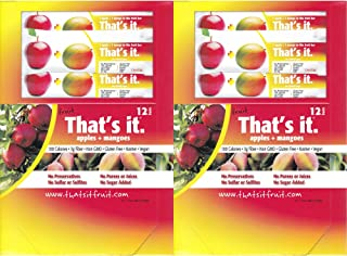 product image for That's It Fruit Bars, Apple and Mango, Pack of 24 (2 Cases)
