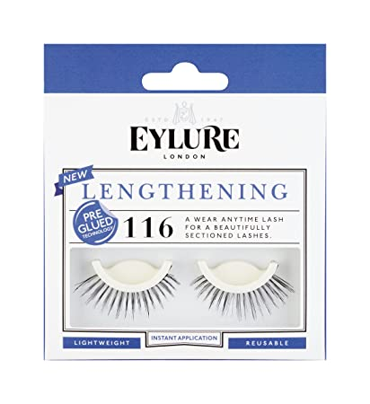 7db7f2d216c Amazon.com : Eylure Pre-Glued Lashes, 116, 18.14 Gram : Fake ...