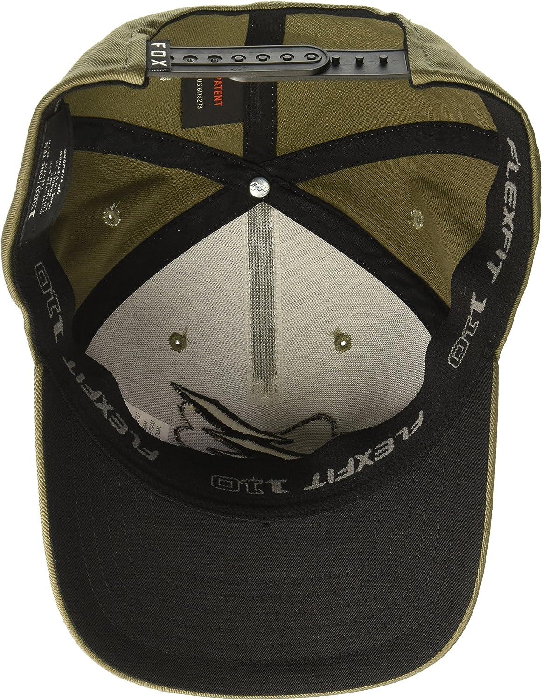 OS Fox Mens 110 Curved Bill Snapback Hat Fatigue Green