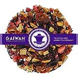 "N° 1193: Tè alla frutta in foglie""Crema di Fragole"" - 500 g - GAIWAN GERMANY - tè in foglie, mela, rosa canina, ibisco, fragola"