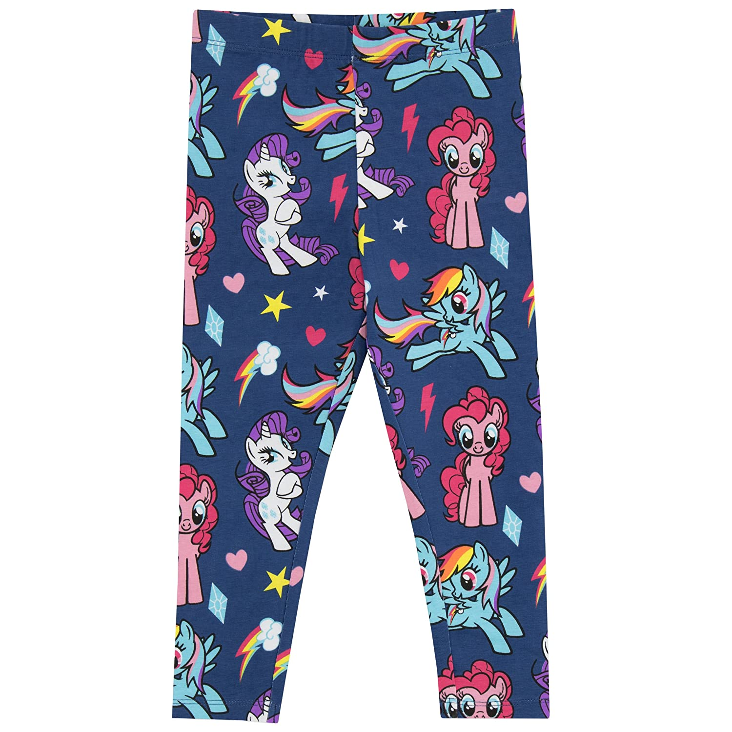 My Little Pony Girls' Pinkie Pie and Rainbow Dash Leggings