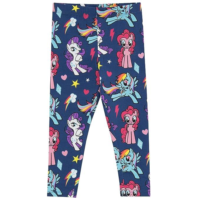 179d05434f9c8 My Little Pony Girls' Pinkie Pie and Rainbow Dash Leggings Size 3T