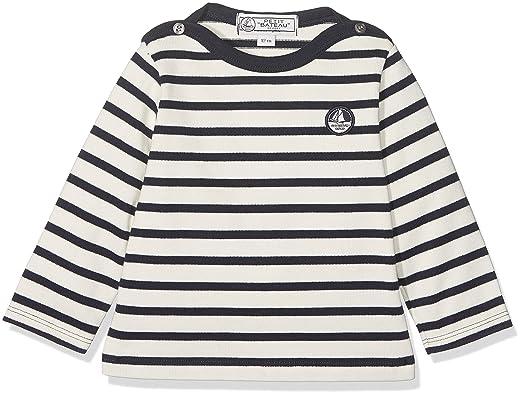 Petit Bateau Baby-Jungen Langarmshirt