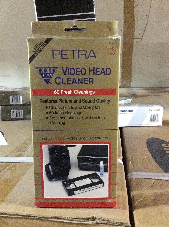 VIDEO HEAD CLEANER Petra LYSB01DQ2FID2-ELECTRNCS