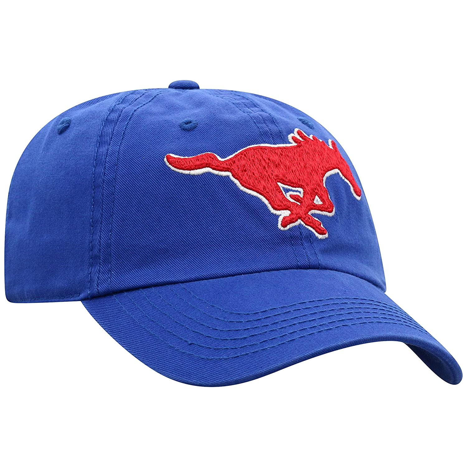 Royal, Top of the World SMU Mustangs Enzyme Washed Adjustable Hat