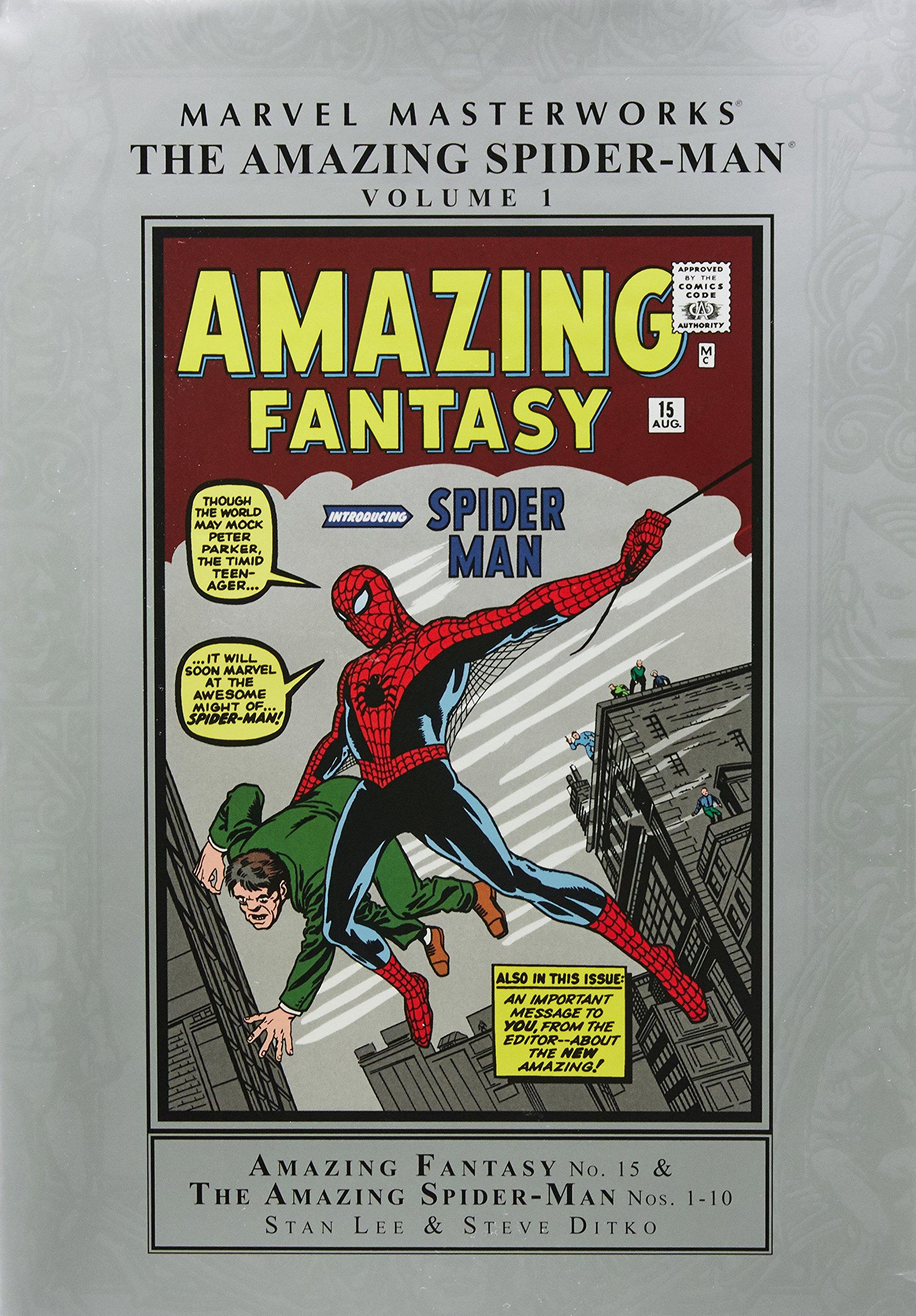 d4ed2988 Marvel Masterworks: The Amazing Spider-Man Volume 1 (New Printing ...