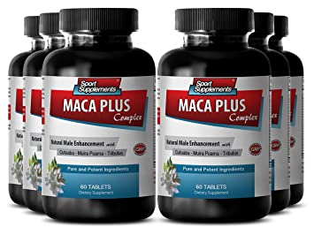 Stinging nettle root - Maca Plus Complex - Rich in vitamins and minerals (6 Bottles
