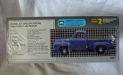 Amt  Ford F  Pickup Truck Plastic Model
