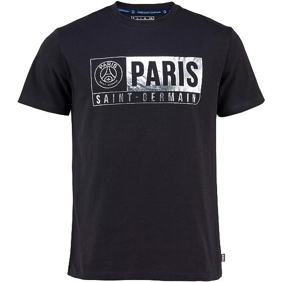 Paris Saint-Germain: camiseta PSG, colección oficial del club de fútbol PARIS SAINT-GERMAIN, talla adulto, Hombre, gris, L: Amazon.es: Deportes y aire libre