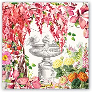 Michel Design Works 20-Count 3-Ply Paper Luncheon Napkins, in The Garden