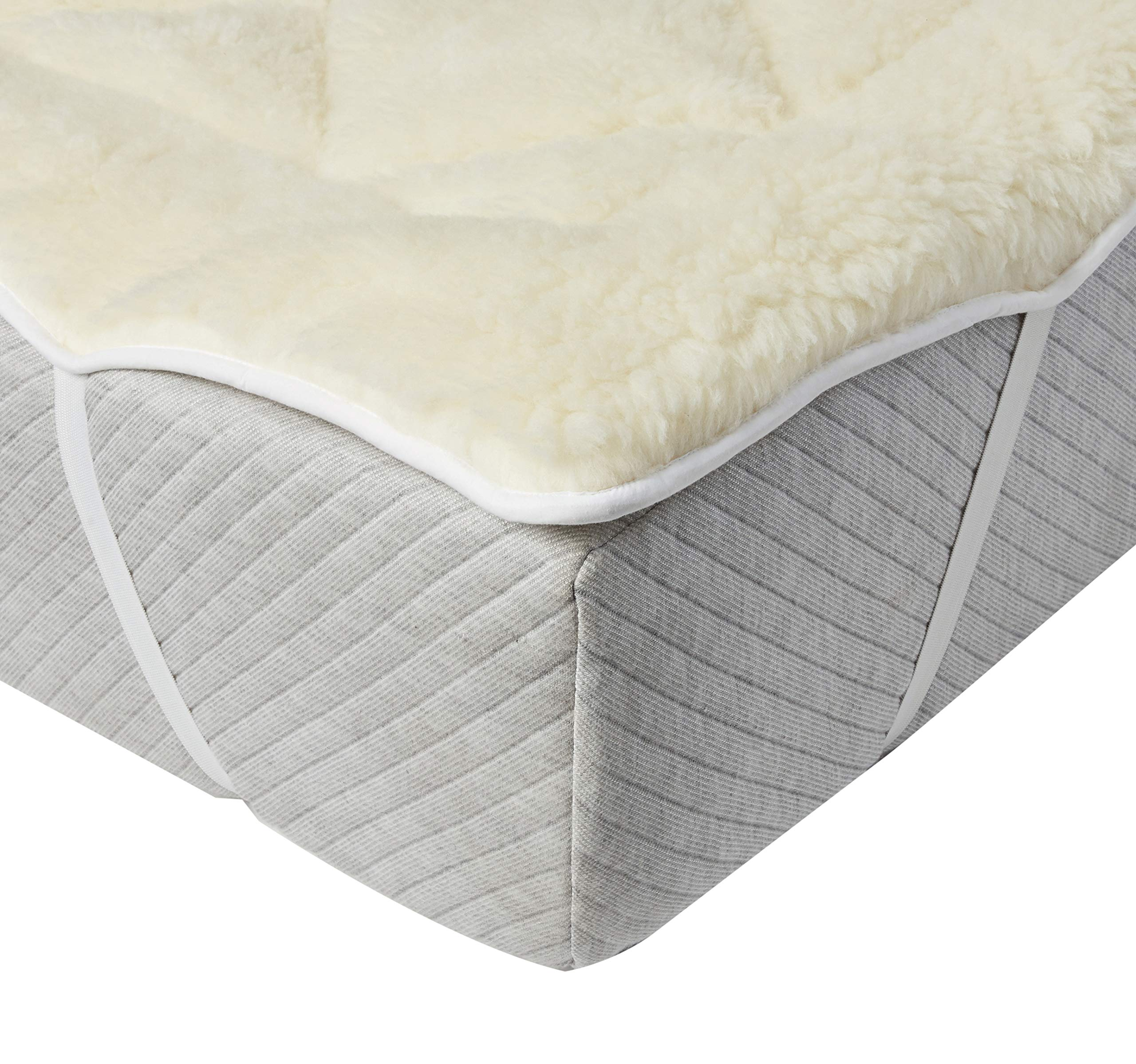 MATTRESS PROTECTOR NIGHTS WATERPROOF PILLOW PROTECTOR PAIR White FOOTTEE FITTED SHEET FOR DOUBLE BED