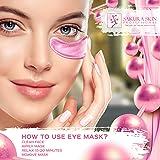 Eye Pads 24k Rose Gold Eye Mask Anti-Aging