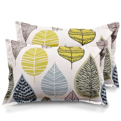 Ahmedabad Cotton 2 Piece Cotton Pillow Cover Set - 18