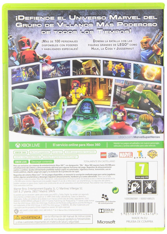 Lego Marvel Superheroes Microsoft Xbox 360 Amazon Es Videojuegos