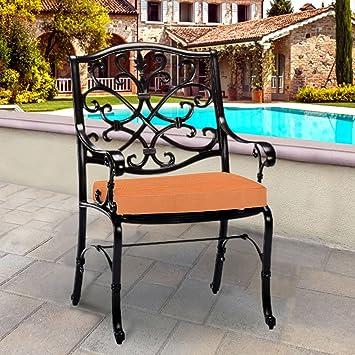 Amazon Com Thomas Collection Outdoor Cushions Tangerine Orange