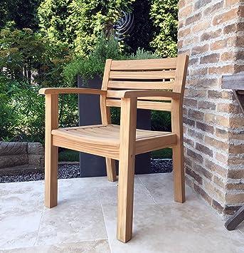 Grasekamp Qualität Seit 1972 Teak Gartenstuhl Sessel Stuhl Teakholz