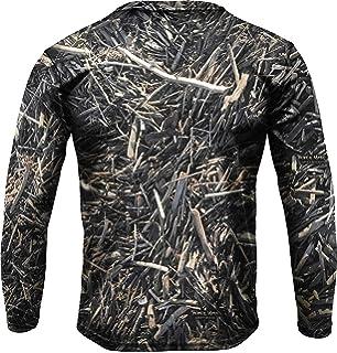 Amazon.com: GREFER - Blusa de manga larga para hombre ...