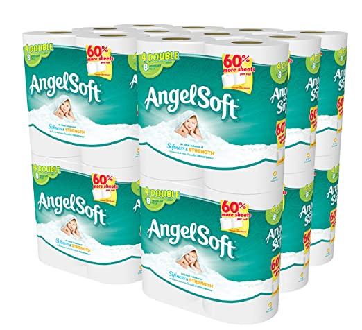 Angel Soft 48 Double Rolls Bath Tissue