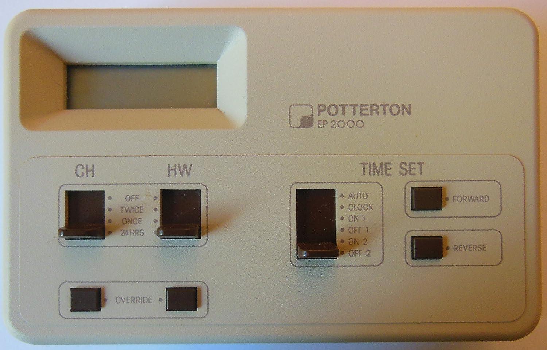 POTTERTON EP2000 Dual Channel Digital Programmer EP 2000: Amazon.co.uk: DIY  & Tools