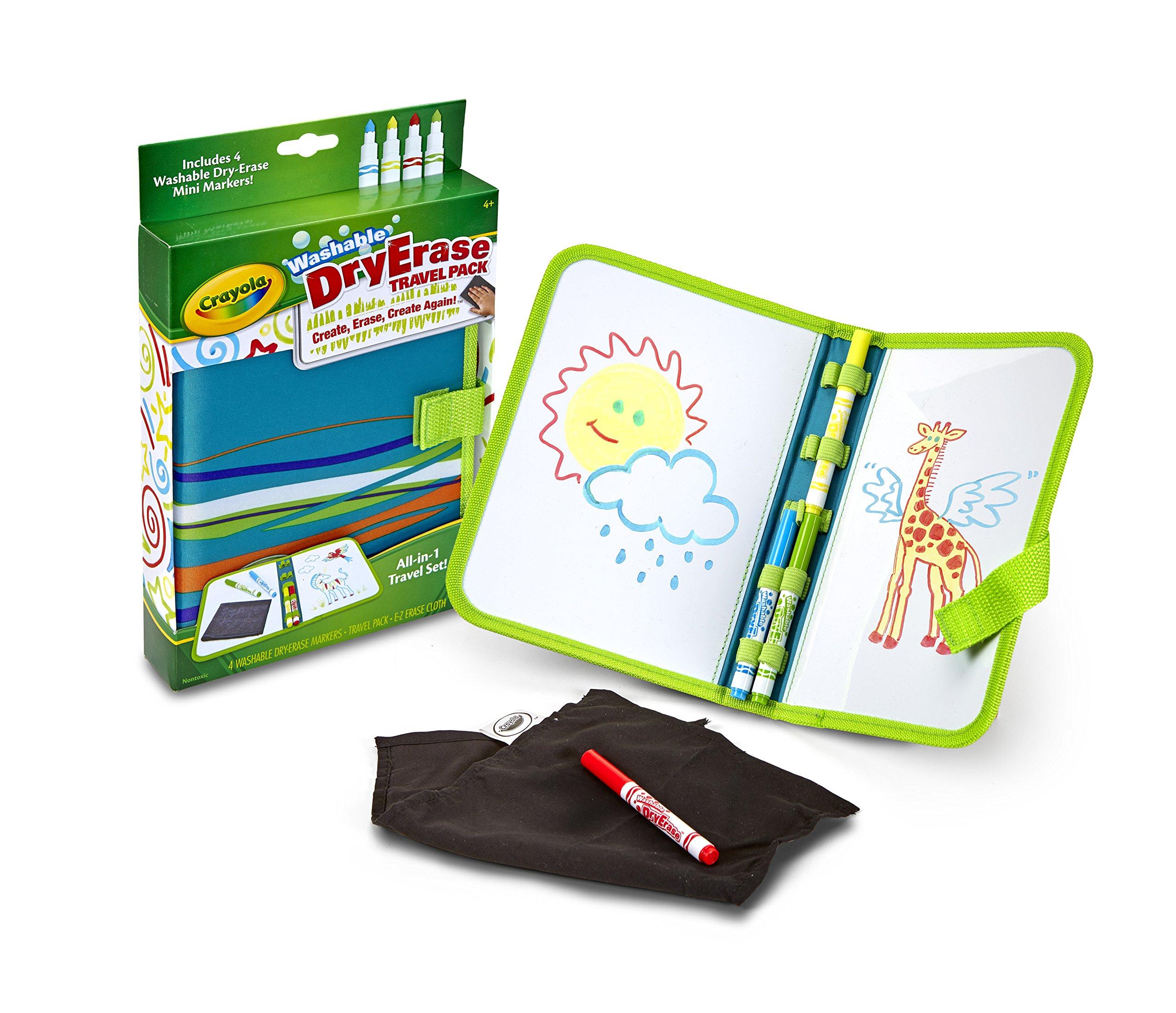 Crayola Dry-Erase Travel Pack by Crayola (Image #2)