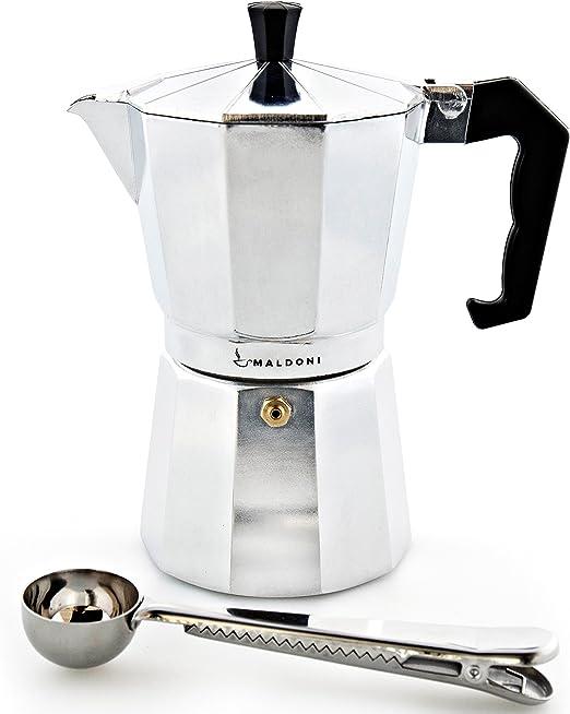 Cafetera italiana por maldoni: hornillo, de café cafetera ...