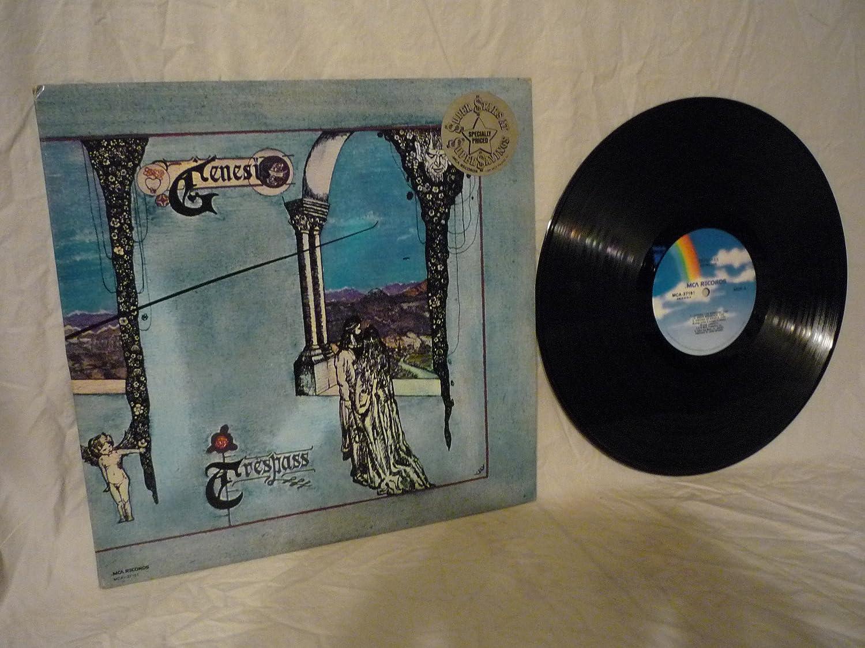 Genesis Trespass - Phil Collins - Reissue - MCA-37151 - 1981