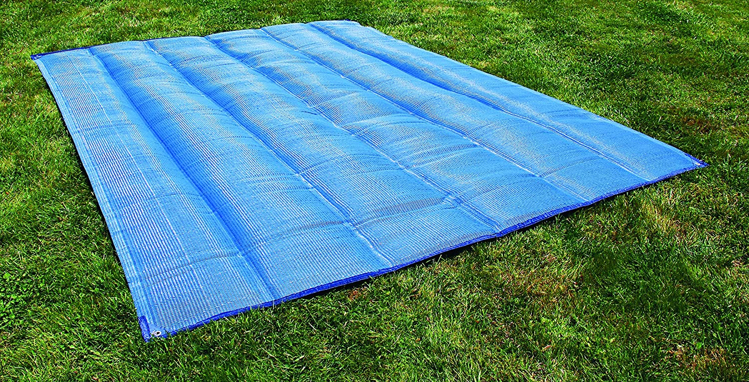 Camco 42811 Premium Quality Awning and Leisure Mat 7 x 15, Brown