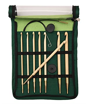 Knitpro 22550 Häkelnadel Set Bamboo Tunesisch Austauschbar Amazon