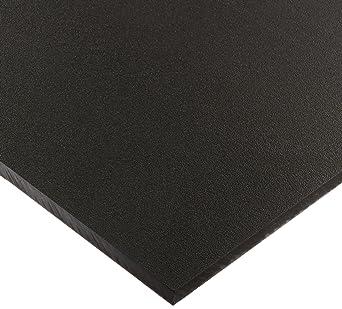 HDPE Sheet High Density Polyethylene Plastic Sheet 3//16 Thick 12 Length x 12 Width Black