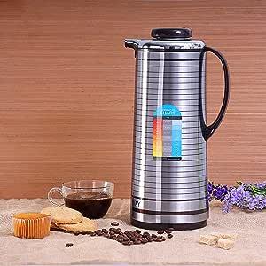 Royalford Vacuum Flask 1.6L (Stainless Steel)