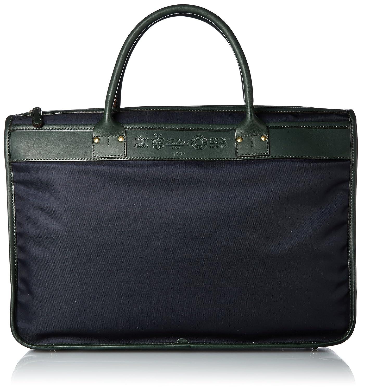 [フェリージ] ビジネスバッグ 1731/DS+A B071HF1JKY ネイビー(043)×グリーン