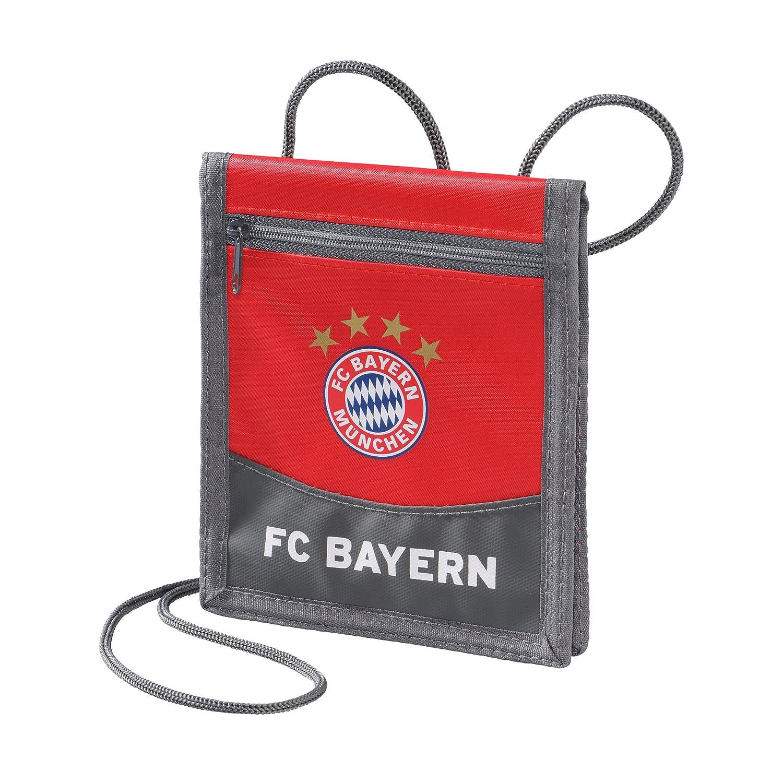 Brustbeutel FC Bayern Mü nchen + gratis Aufkleber Mü nchen forever, Beutel / Tasche / monedero / purse / bourse Munich Geldbeutel, Geldtasche, Portemonnaie FC Bayern München