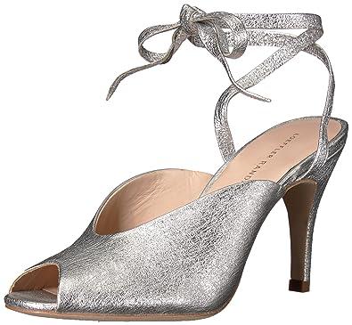 e26d9b1cb7de6 Amazon.com | Loeffler Randall Women's Mila (Crinkle Metallic) Heeled ...